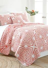 elise james home belclaire coral quilt products