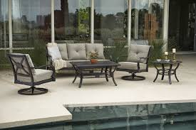 Oriflamme Sahara Fire Table by 4 Piece Laurel Collection By Sunvilla Outdoor Patio Sets Patio
