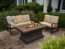 Patio Furniture Fire Pit Table Set - patio sets with fire pits ecormin com