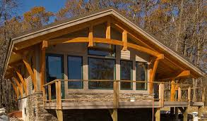 a frame home kits bristol mountain cabin timber frame case study
