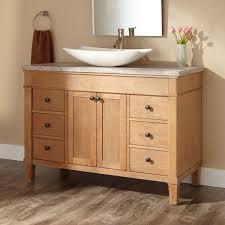 48 In Bathroom Vanity Combo Natural Wood Bathroom Vanity Home Vanity Decoration