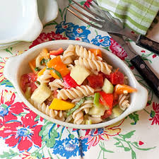cold pasta salad dressing summertime pasta salad never enough thyme