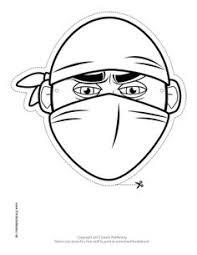 bandana pirate mask color printable mask free download