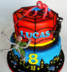 why you should want a spiderman cake for your next birthday