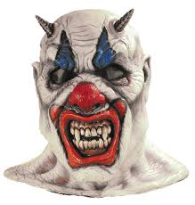 scary clown halloween mask age 8 16 boys krazed jester costume mask halloween fancy dress