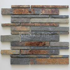 Stone Mosaic Tile Kitchen Backsplash by Slate Kitchen Backsplash Design U2013 Quicua Com