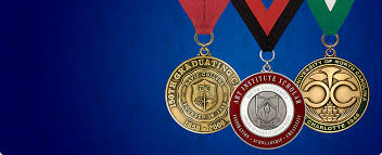 unique graduation medals
