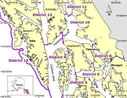 sitka alaska map commercial salmon fisheries by area sitka alaska department of