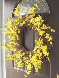 spring wreaths for front door best 25 forsythia wreath ideas on pinterest the frugality
