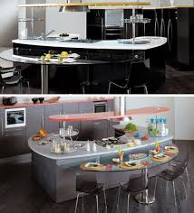 round out curved countertops add kitchen surface space