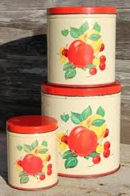 kitchen canisters canada vintage kitchen canisters vintage kitchen canisters 4 set