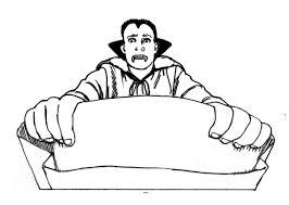 printable dracula vampire coloring pages kids 256033 dracula