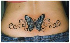 tr st designs lower back tattoos flowers design