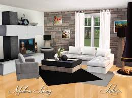 modern living room idea screenshot b d ba d be d bf d b d f sims modern living room sims 3