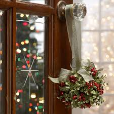 Mistletoe Decoration Ganz Mistletoe Door Decor Kissing Ball Classic Red 5