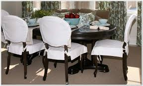 Dining Room Chair Pillows Dining Chair Pads With Skirt Home Design Ideas