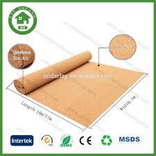 flooring cork underlayment felt underlayment flooring best