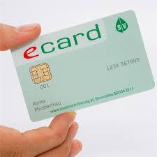 e card что такое e card и как её получить страница 1 медицина в