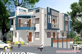 elevation design for the house very small double storied house 1