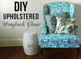2 Piece Wing Chair Slipcover Lovely Little Life Diy Upholstered Wingback Chair
