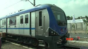 Chennai Metro Map by Chennai First Metro Rail Test Run Red Pix Youtube