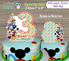 mickey mouse clubhouse centerpieces mickey mouse clubhouse cake toppers mickey mouse clubhouse