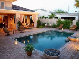 Small Backyard Patio Design Ideas Triyae Com U003d Backyard Patio Ideas With Pool Various Design