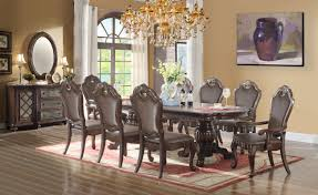 9 piece dining table set ultimate accents 9 piece dining set reviews wayfair