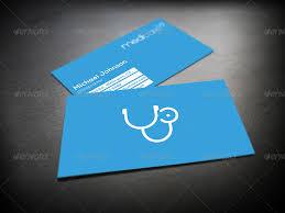 Medical Business Card Design Medic Minimal Medical Business Card By Mediabq Graphicriver