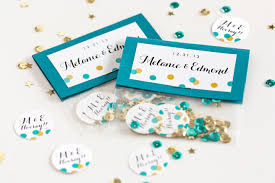 save the date ideas diy save the date diy new year s confetti weddings ideas from