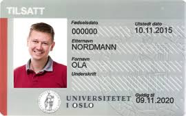 How To Make Employee Id Cards - employee id card for employees university of oslo