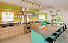 Closed Kitchen Appealing Counter Closed Black Chair Under Downlight Plus Square