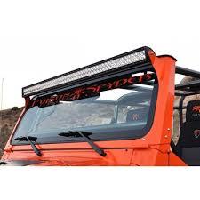 roof rack emergency light bar poison spyder tj lj 97 06 light bar mounts for rigid 50 led