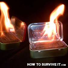 how emergency light works keep an altoids tin with corrugated cardboard in your pocket on a