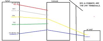 standard heat only thermostat wiring diagram wiring diagram