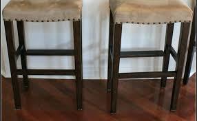 kitchen bar stools backless backless kitchen chairs metropolis backless bar stool wood seat