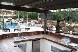 Outdoor Patio Grill Island Outdoor Kitchens Gallery Western Outdoor Design And Build Serving