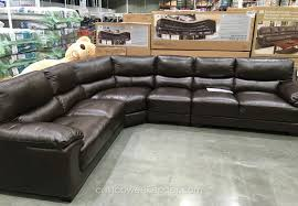 fair cheers clayton leather sofa costco review with additional