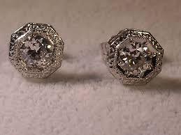 earrings 2 carat diamond earrings riveting value of 1 2 carat