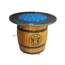 Propane Firepit Wine Barrel Pit Propane J C S Unbarrelables