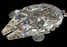 millennium star diamond 2 interpretations of the millenium falcon u0027s interior 22 words
