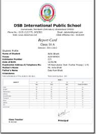 report card format template cbse cce report card sle format