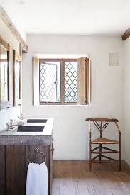 Modern Country Bathroom With Stonetopped Vanity Bathroom Design - Modern country bathroom designs