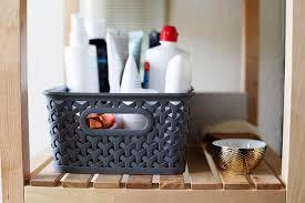 Shelving Bathroom by Open Shelving Bathroom Organization Tips