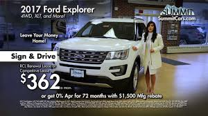 2017 ford explorer and 2018 ford f 150 xl sport youtube