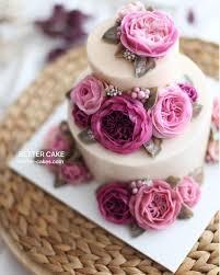 Flower Cakes 657 Best Cake Decorating Images On Pinterest Cakes Buttercream