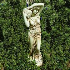how to make a new garden ornament look antique dengarden