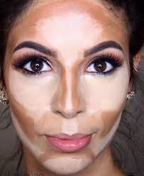 makeup contouring jenny was impressed but says this would be a big faff every day but i ll make the effor
