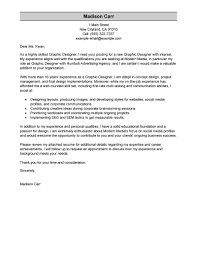 best ideas of entry level graphic design cover letter sample about
