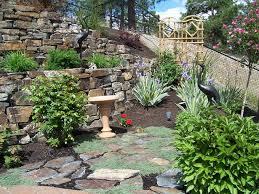 rock wall landscaping ideas